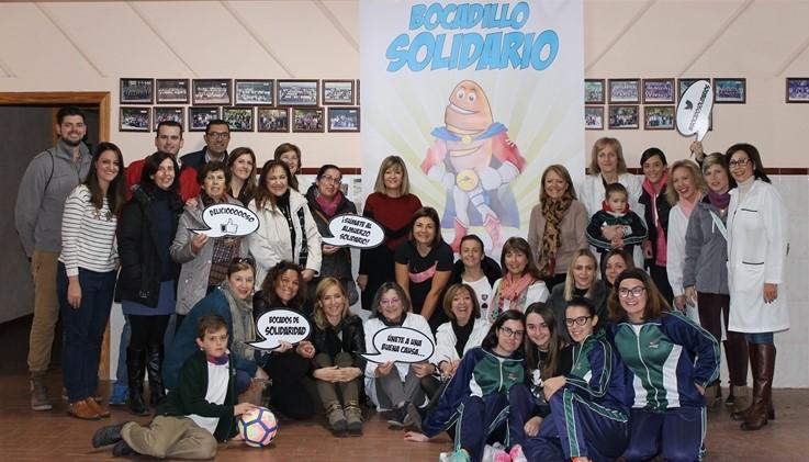 Éxito con nuestro primer Bocadillo Solidario