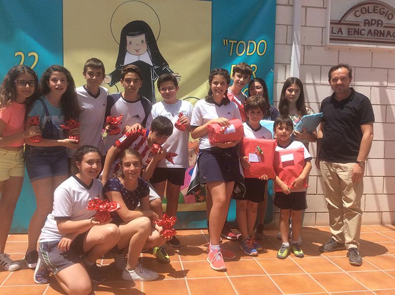 Concurso de narrativa Santa Joaquina de Vedruna