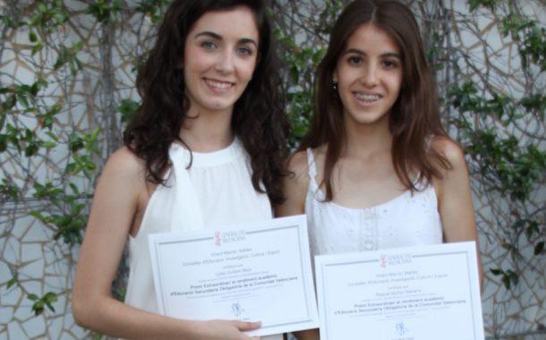 Premio Extraordinario al rendimiento Académico.