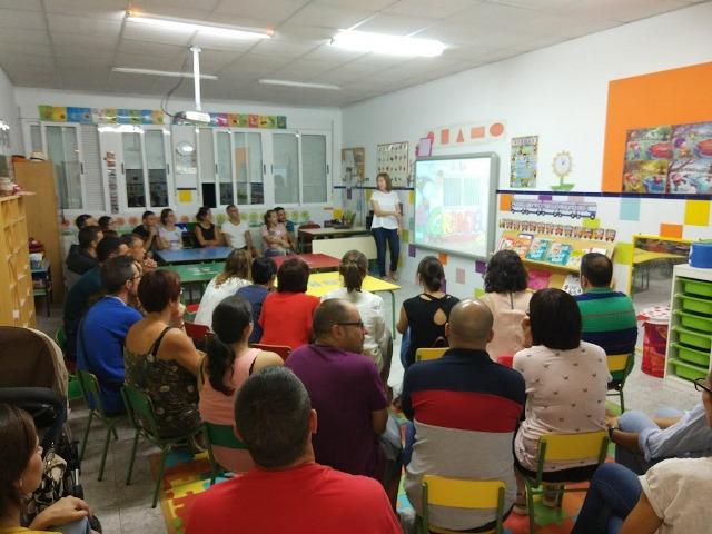 Reunión Educación Infantil 3 años
