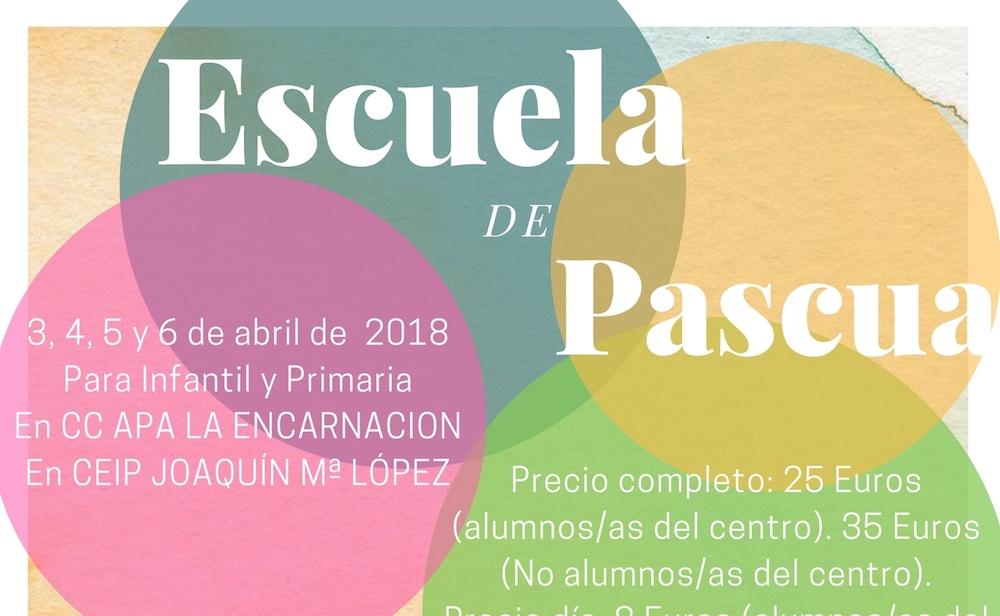 Escuela de Pascua conciliar vida familiar y laboral