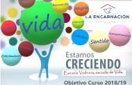 Cambiar con sentido es crecer, nuestro objetivo Vedruna para el curso 2018/19.