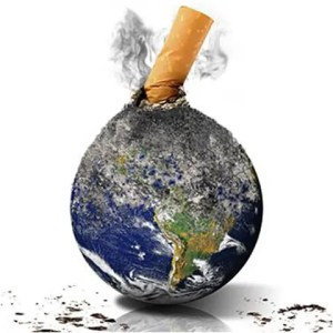 Fumar contamina el medio ambiente