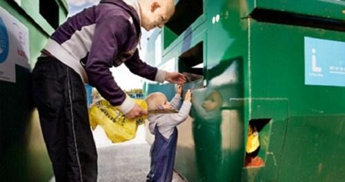 La educación en el reciclaje