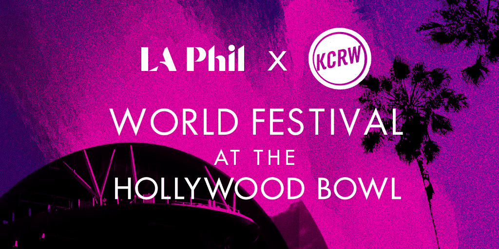World Festival At The Hollywood Bowl Graphic