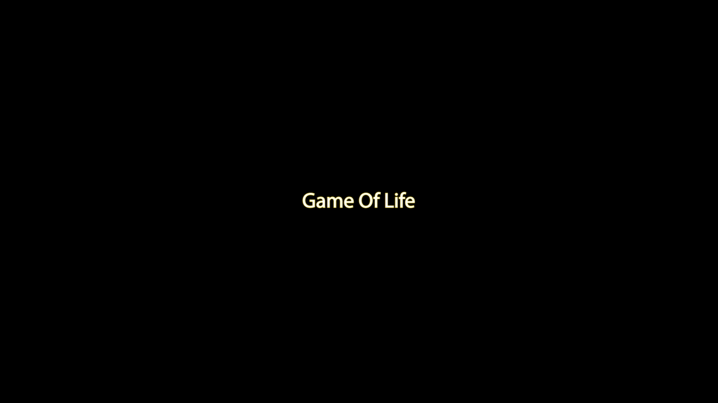Game Of Life - Marq Robinson - 26 (in real time)