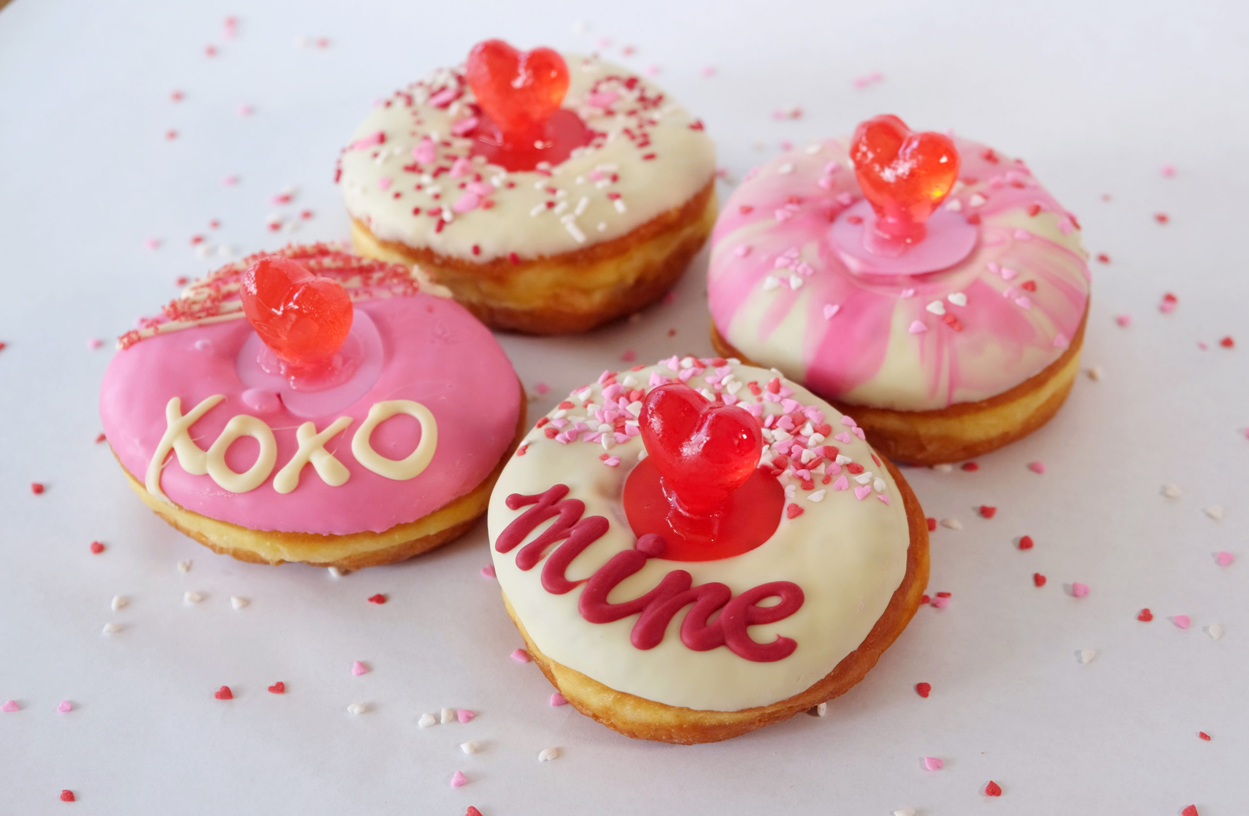 Valentine's Day Donut Box Sets