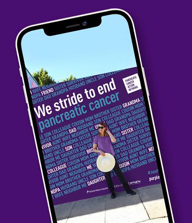 PurpleStride LA Selfie Location