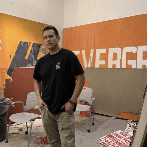 Quinn Emanuel Inaugural Artist - Edgar Ramirez