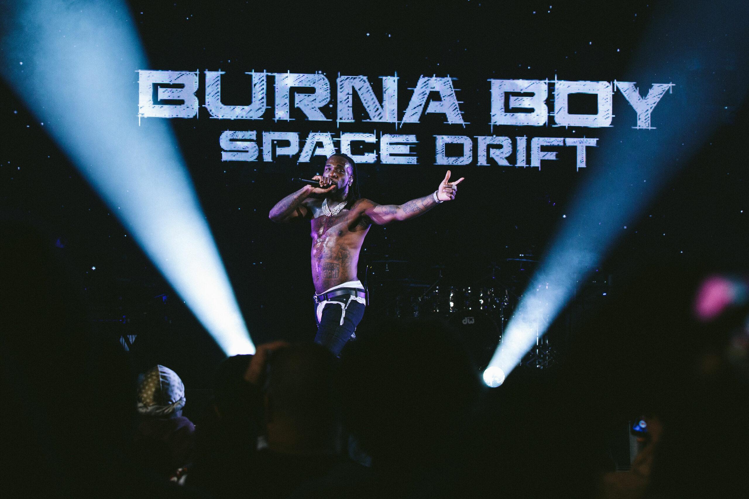 Burna Boy Space Drift From - Burna Boy Voice