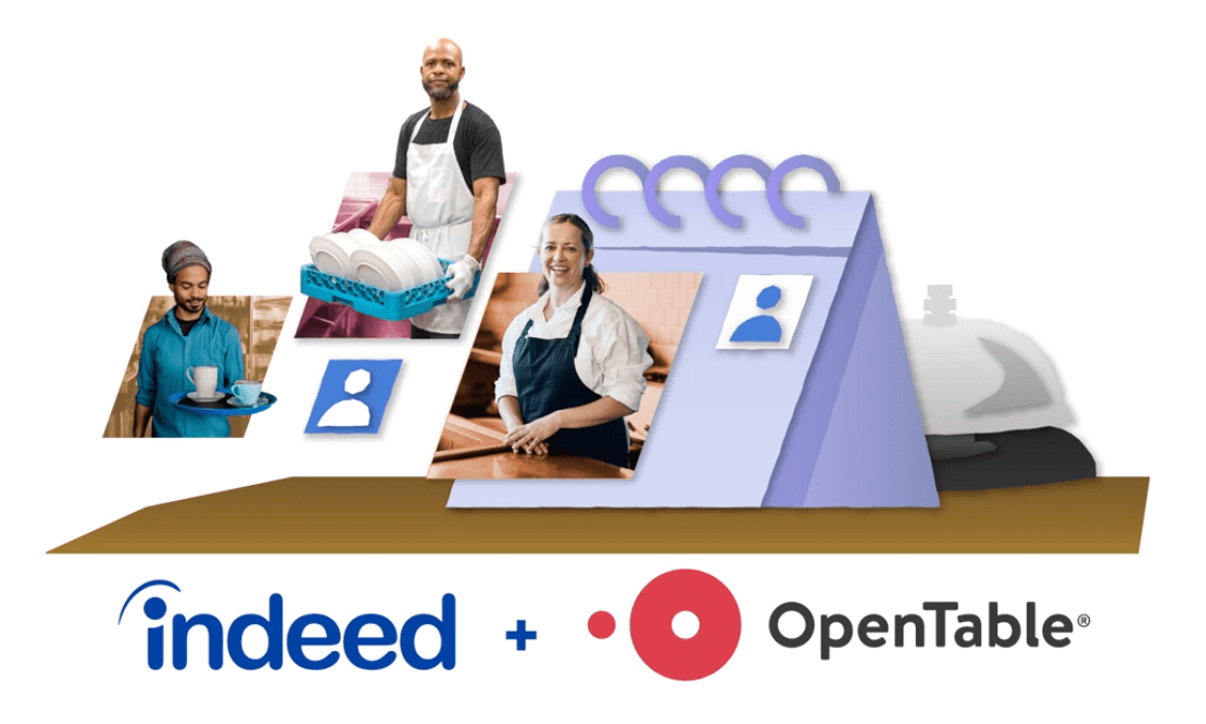 Indeed & Open Table Partnership