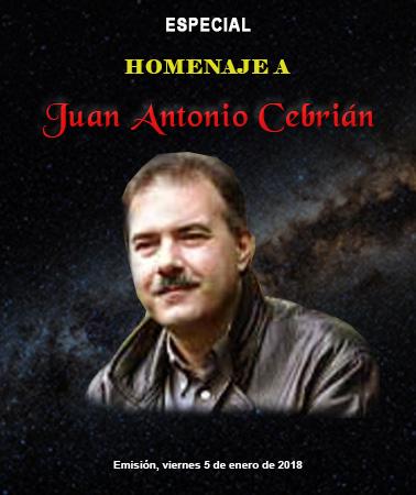 ESPECIAL: HOMENAJE A JUAN ANTONIO CEBRIÁN.