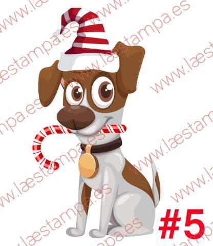 calcetin personalizado con nombre navidad gatos perros mascotas niños papa noel renos pug muñeco de nieve y muchos mas elige el tuyo y personaliza