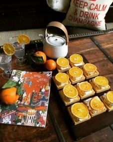 Tarte orange et meringue italienne à l'HE de Néroli
