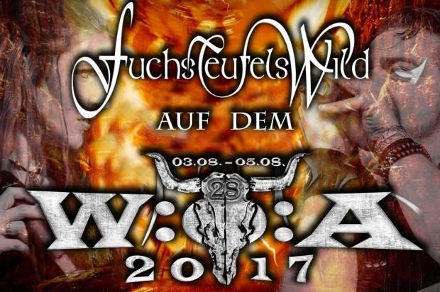 FuchsTeufelsWild auf Wacken 2017
