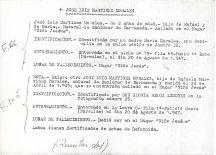 Ficha aclaratoria de la identidad de José Luis Martínez Morales