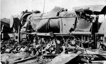 Locomotora en construcción