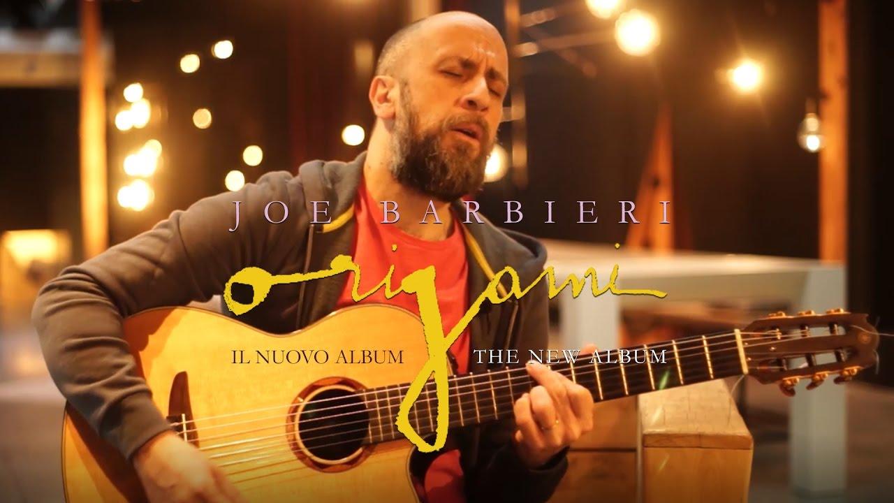 "Joe Barbieri in ""Origami"" Tour"