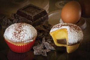 bocconotto crema e cioccolato
