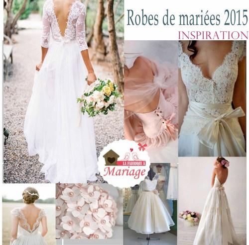 robes de mariées 2015