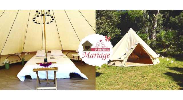 hébergements mariage wedding-camping