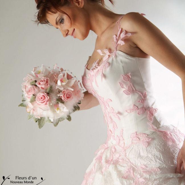 conserver son bouquet de mariée