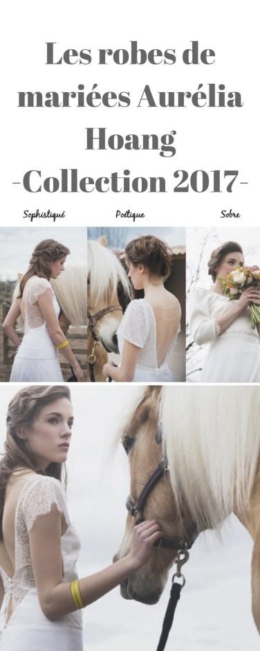 robes de mariées Aurélia Hoang