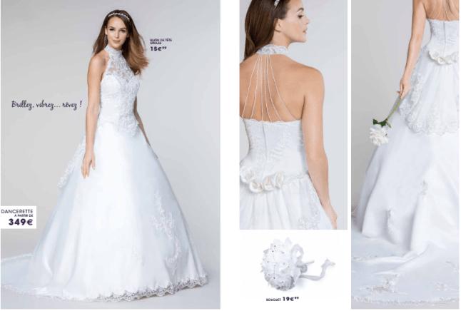Tati mariage robe dancerette - La fabrique à mariage