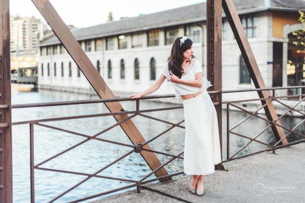JUPE et TOP LES MARIEES FOX- ensemble mariage civil - la fabrique à mariage