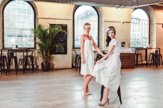 LES MARIEES FOX- robes mariage civil - la fabrique à mariage