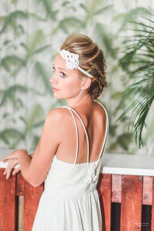 robe bretelles LES MARIEES FOX-mariage civil - la fabrique à mariage