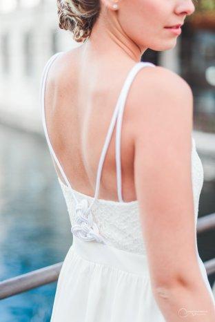 robe bretelles LES MARIEES FOX- pour mariage civil - la fabrique à mariage