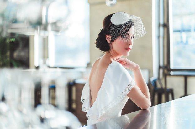 robe dos nu LES MARIEES FOX-pour mariage civil - la fabrique à mariage