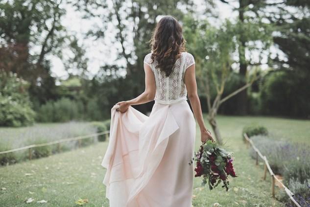ENSEMBLE ROSE DOS - les mariées fox - la fabrique a mariage