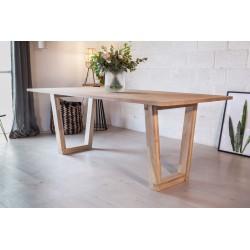 Pied De Table Trapeze En Bois 71 Cm La Fabrique Des Pieds