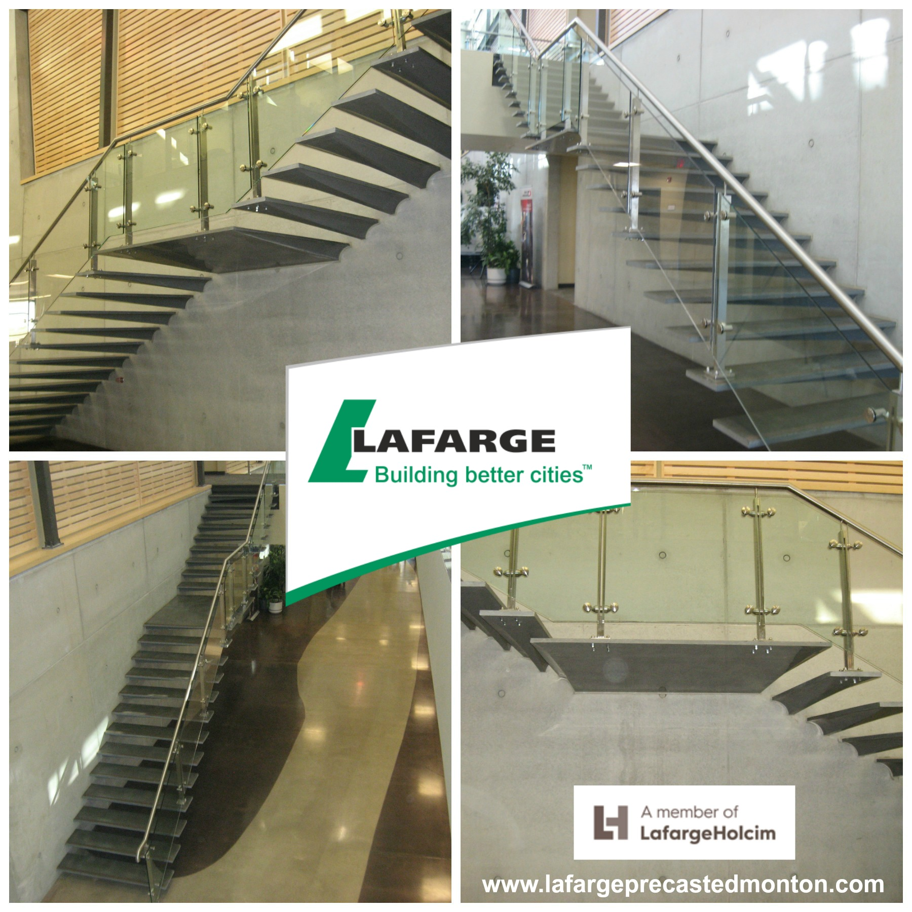 Precast Concrete Stair Treads Edmonton