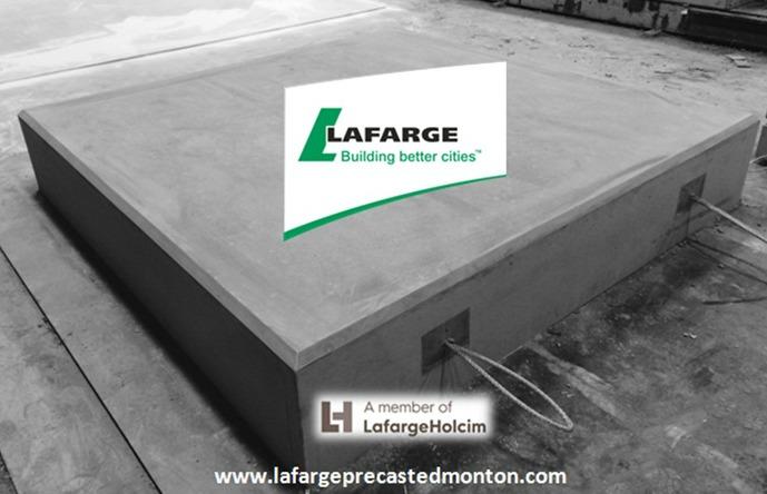 Precast concrete slab costs edmonton lafarge precast for Precast concrete home kits