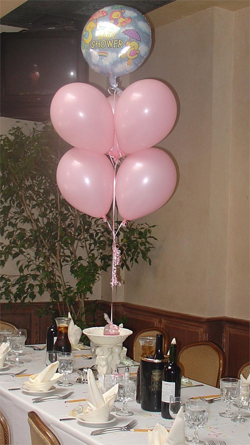 Baby Shower Balloon centerpiece  Item Rcpballoon04