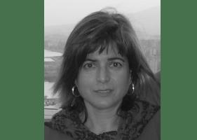 La escritora Isabel María Abellán
