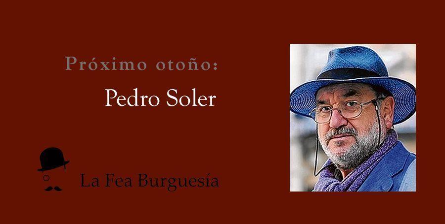 Próxima edición de otoño: libro de relatos del periodista de La Verdad Pedro Soler