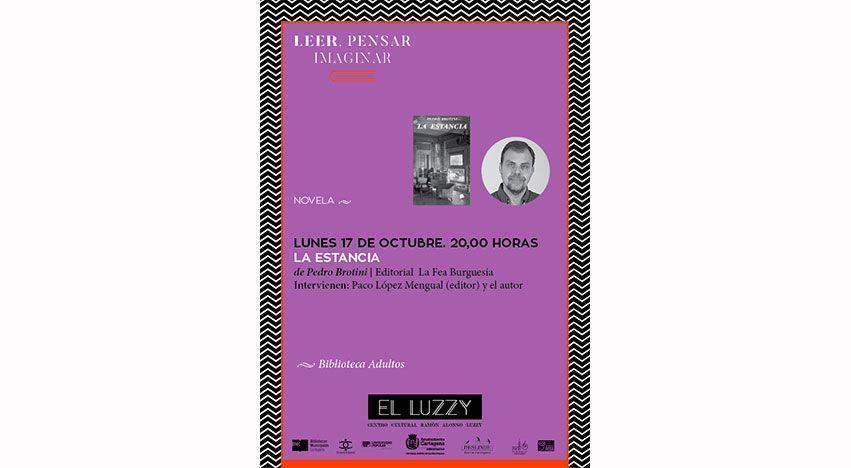 """Presentación de la novela """"La Estancia"""" en Cartagena"""