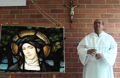 Santa Catalina de Siena - Fray Nelson Medina