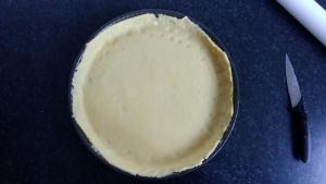 tarte à la peche