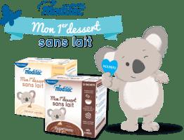 dessert pour enfant sans lait