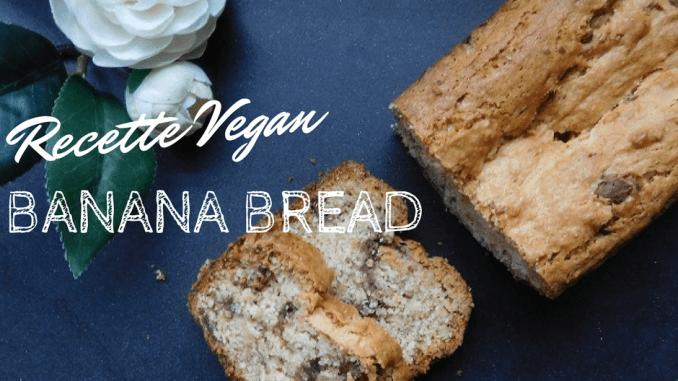 recette banana bread vegan