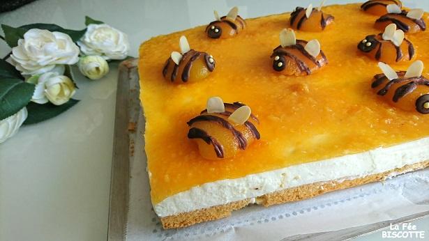 recette gâteau abeille