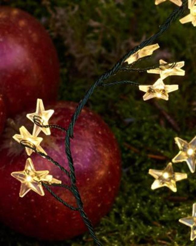 pommes et guirlandes