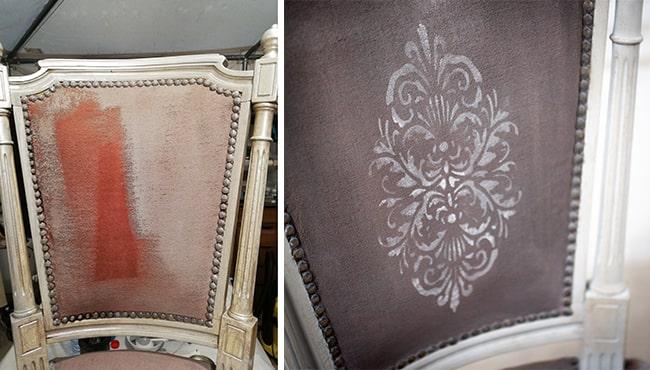 peindre du velour avec la chalk paint annie sloan