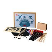 kit de creation de silhouettes d'ombre pour enfant