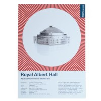 Monumini ROYAL ALBERT HALL - mini maquette